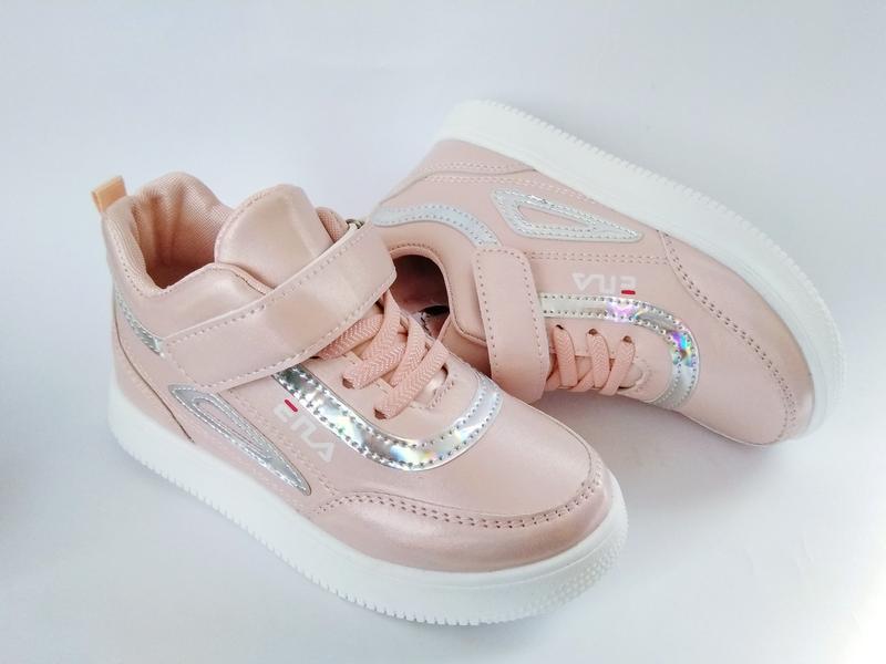 Крутые демисезонные ботинки высокие кроссовки для девочки