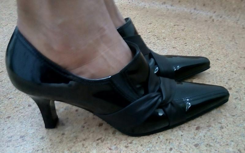 Стильные новые кожаные туфли gabor. - Фото 3