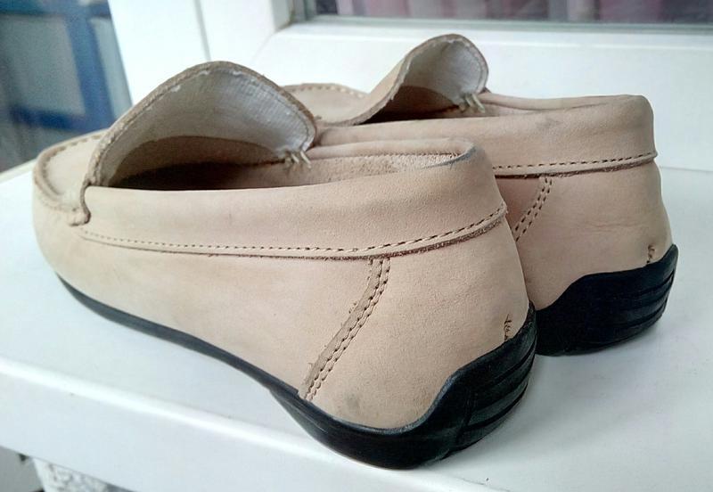 Стильные новые кожаные лоферы foot cushion (испания). - Фото 2