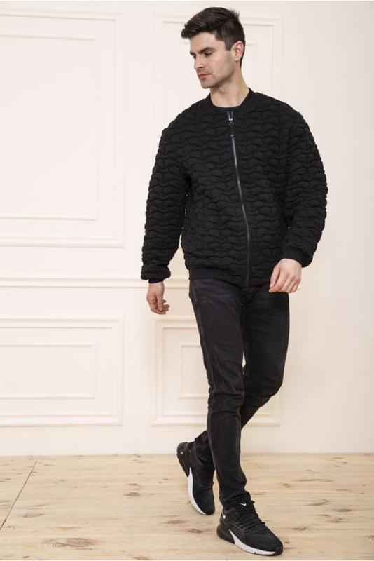 Мужская  куртка бомбер - Фото 2