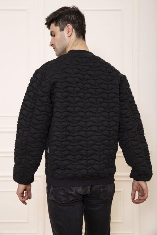 Мужская  куртка бомбер - Фото 5