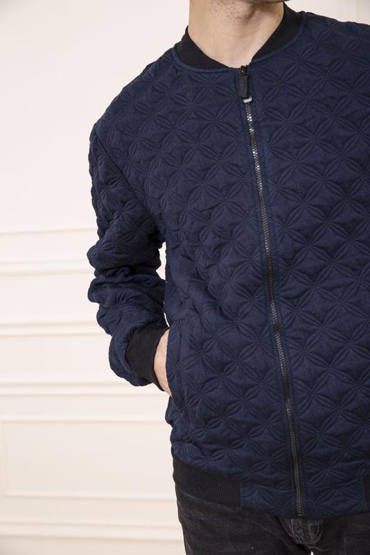 Мужская куртка- бомбер - Фото 3