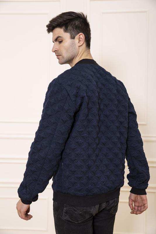 Мужская куртка- бомбер - Фото 5