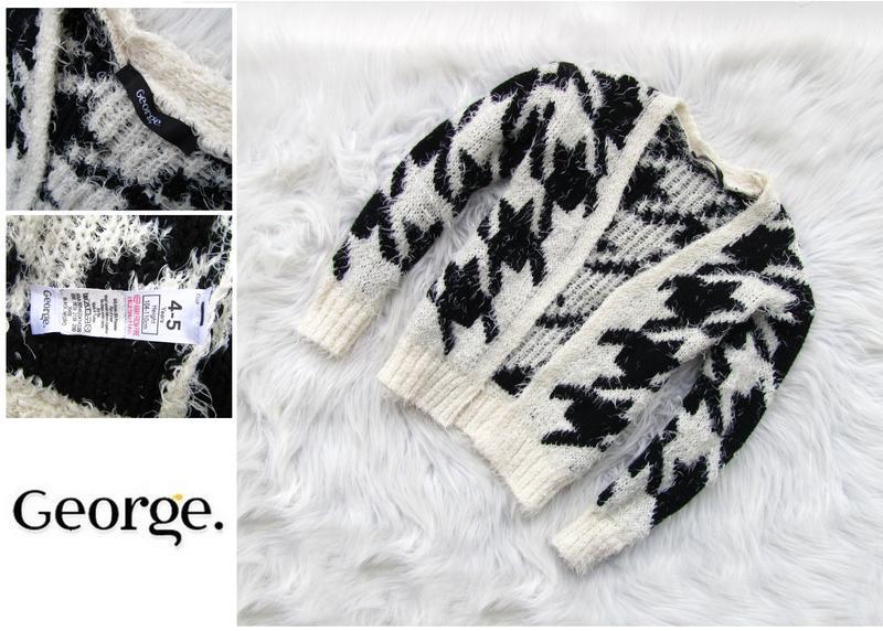Стильная кофта реглан   свитер george