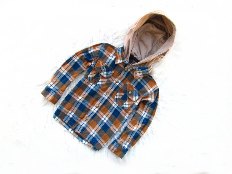 Качественная и стильная рубашка с капюшоном matalan - Фото 2