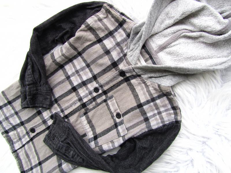 Качественная и стильная рубашка с капюшоном  debenhams - Фото 3
