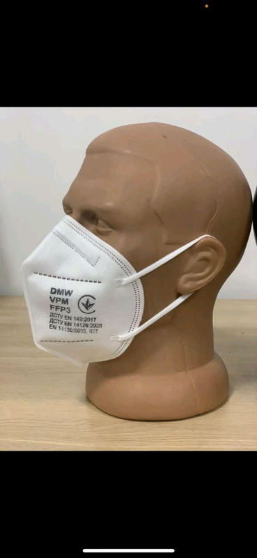 Полуресператорные маски ffp2 ,ffp3 ,ffp3 с клапаном продажа оптом - Фото 2