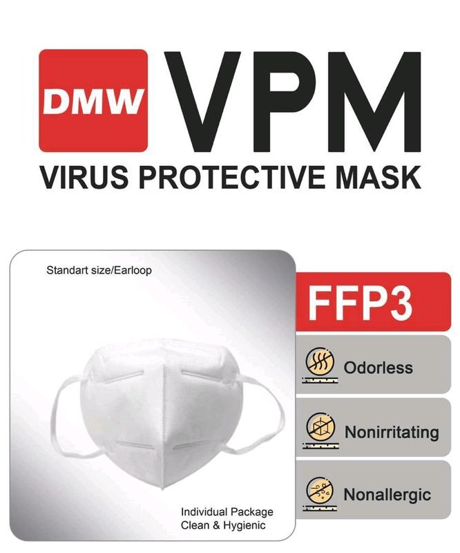 Полуресператорные маски ffp2 ,ffp3 ,ffp3 с клапаном продажа оптом - Фото 5