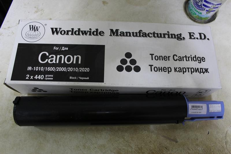 Тонер картридж для Canon IR-1010/1600/2000/2010/2020
