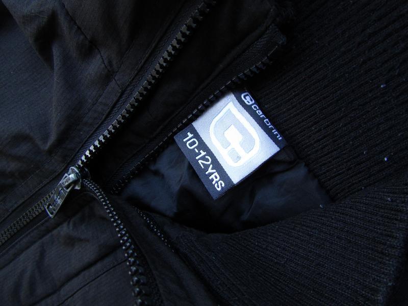 Стильная куртка ветровка с капюшоном carbrini - Фото 3