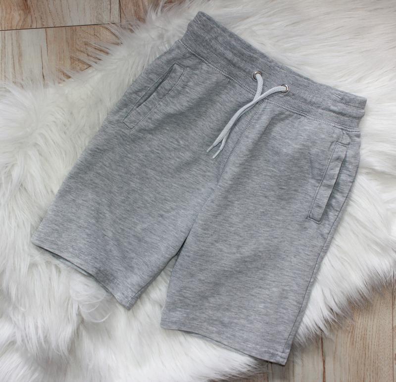 H&m шорты серые хлопок шорти на хлопчика h&m р.128-134 см.