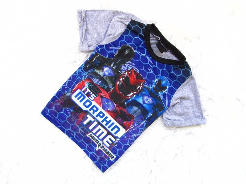 Стильная футболка power rangers