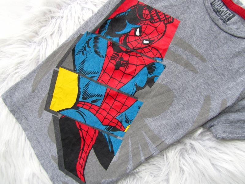 Стильная футболка marks & spencer spiderman - Фото 2