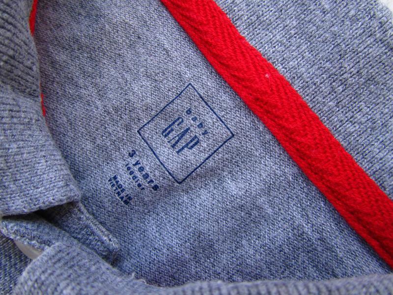 Стильная поло футболка gap - Фото 2