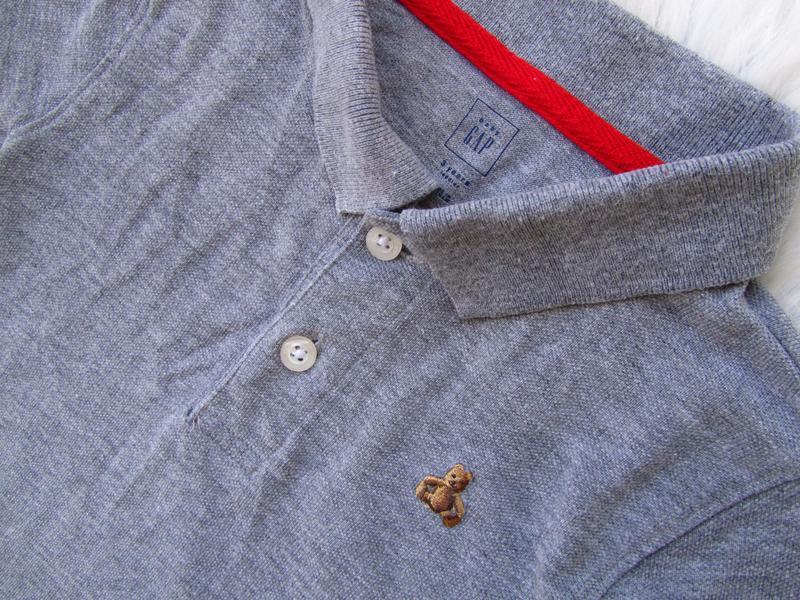 Стильная поло футболка gap - Фото 3