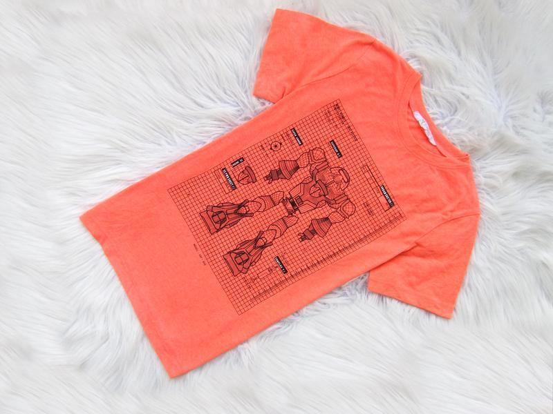Стильная футболка h&m