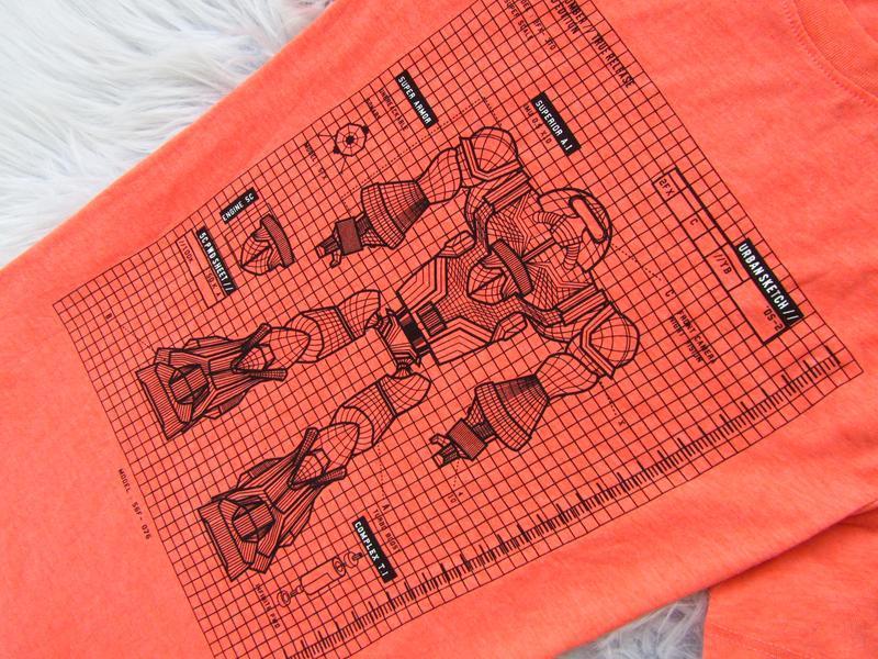 Стильная футболка h&m - Фото 3