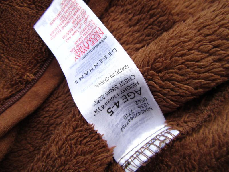 Качественный и стильный человечек пижама костюм с капюшоном de... - Фото 3