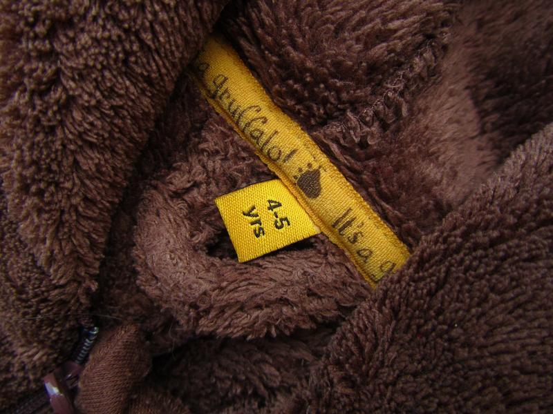 Качественный и стильный человечек пижама костюм с капюшоном de... - Фото 5