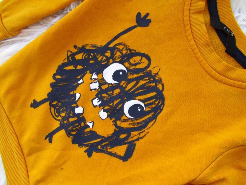 Стильный кофта свитер george - Фото 3