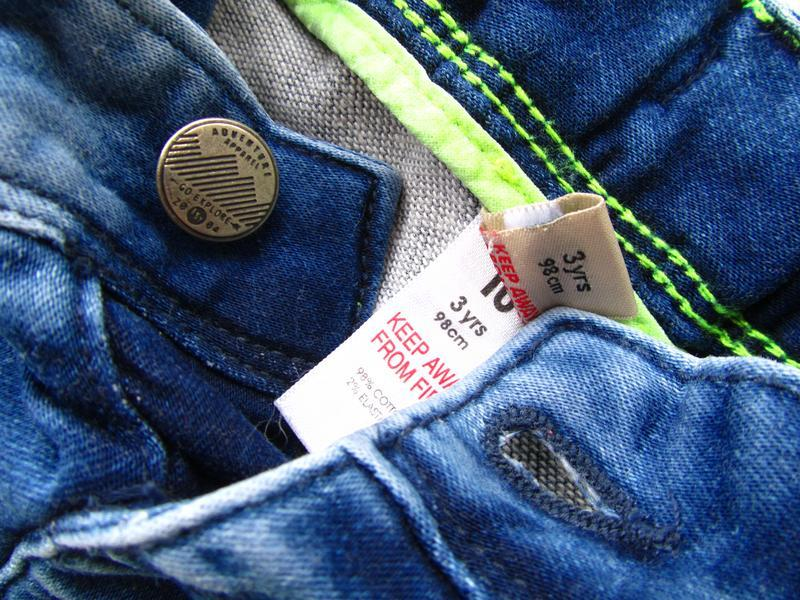 Стильные и качественные джинсовые шорты tu - Фото 3