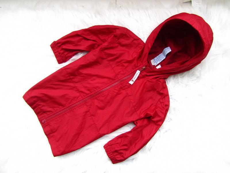 Стильная ветровка дождевик куртка парка с капюшоном gap