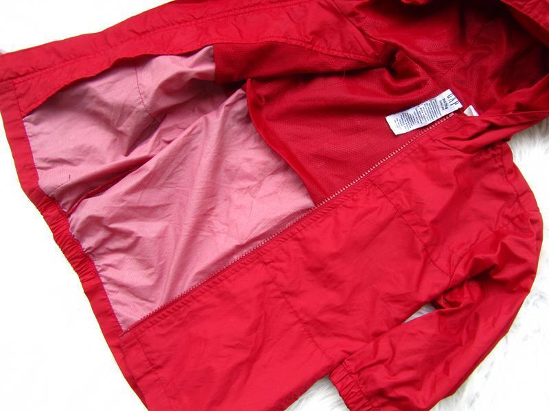 Стильная ветровка дождевик куртка парка с капюшоном gap - Фото 3