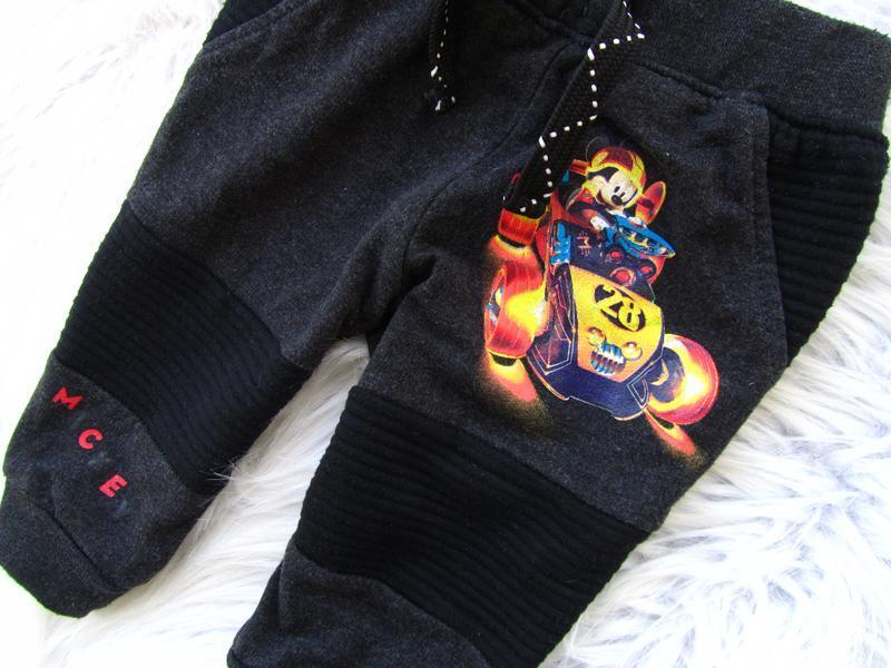 Стильные штаны брюки disney mickey mouse - Фото 3