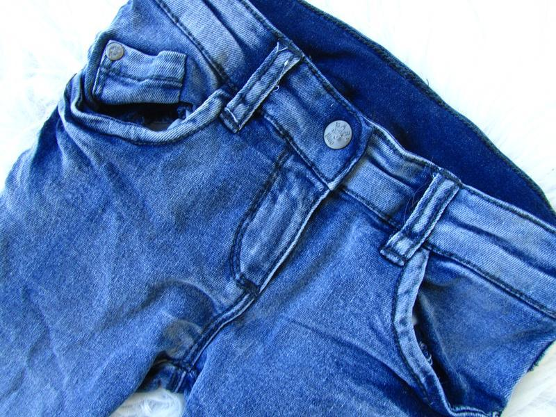 Стильные джинсы штаны брюки baby blue - Фото 3