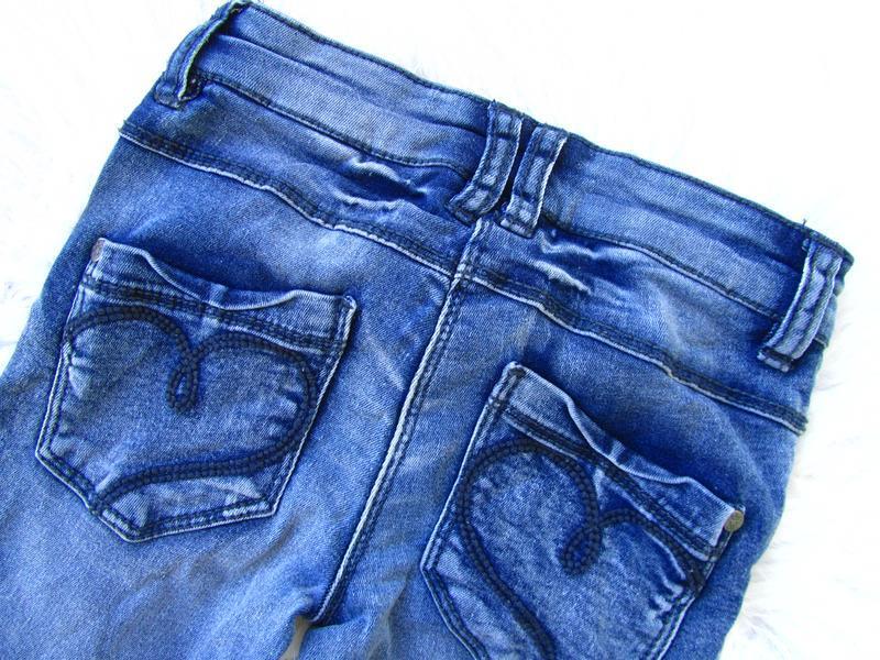 Стильные джинсы штаны брюки baby blue - Фото 4