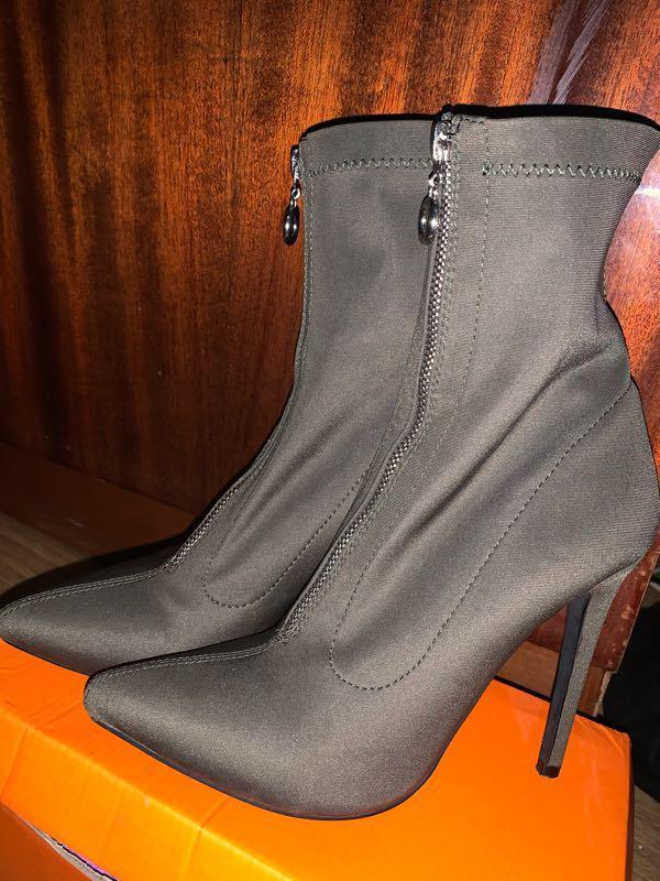 Ботиночки ,ботфорты,полу-сапоги-чулки - Фото 4