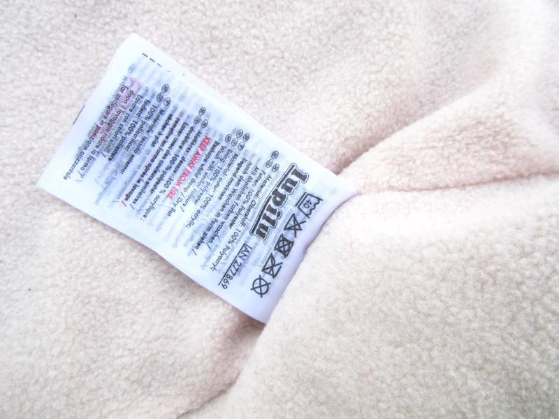 Стильная теплая кофта реглан с капюшоном  lupilu - Фото 2