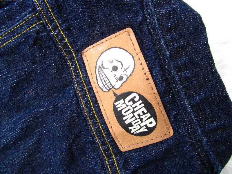 Стильная джинсовая  куртка cheap monday - Фото 4