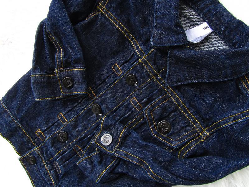 Стильная джинсовая  куртка cheap monday - Фото 5