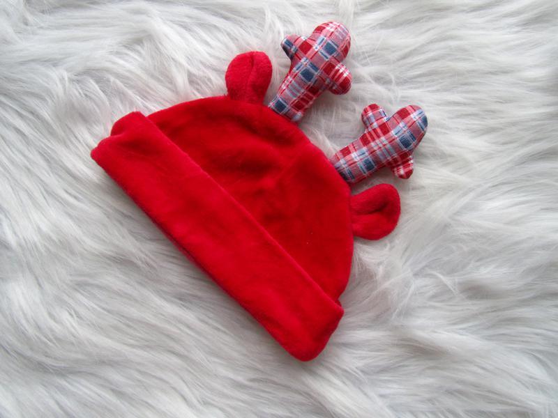Крутая шапка с рожками и ушками tu - Фото 2