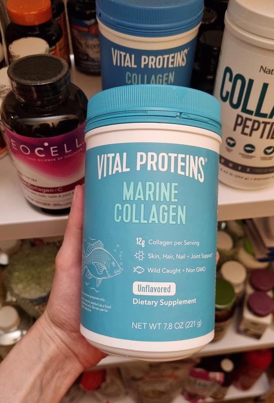 Vital Proteins, Морской коллаген из дикой рыбы, без добавок, 221