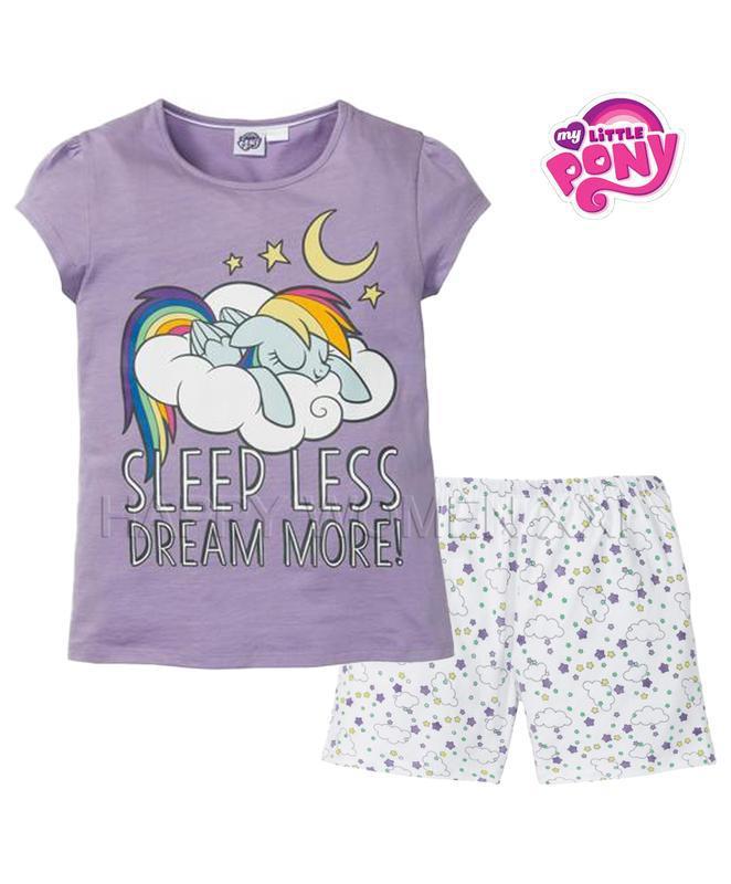 Летняя пижама для девочки 2-6 лет