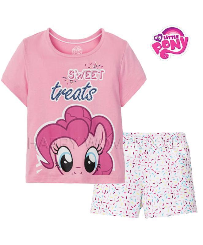 Летняя пижама для девочки 1-6 лет