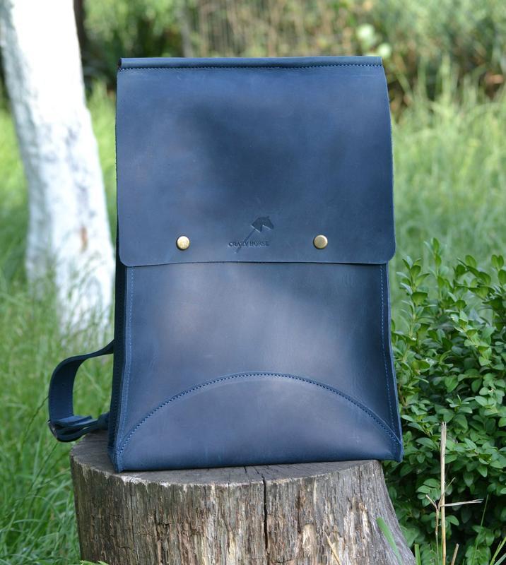 Рюкзак. ручная работа. натуральная кожа.