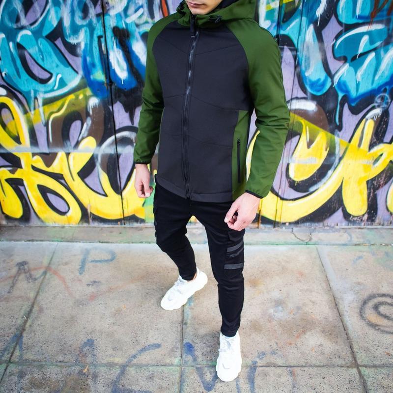Мужская осенняя куртка - Фото 2