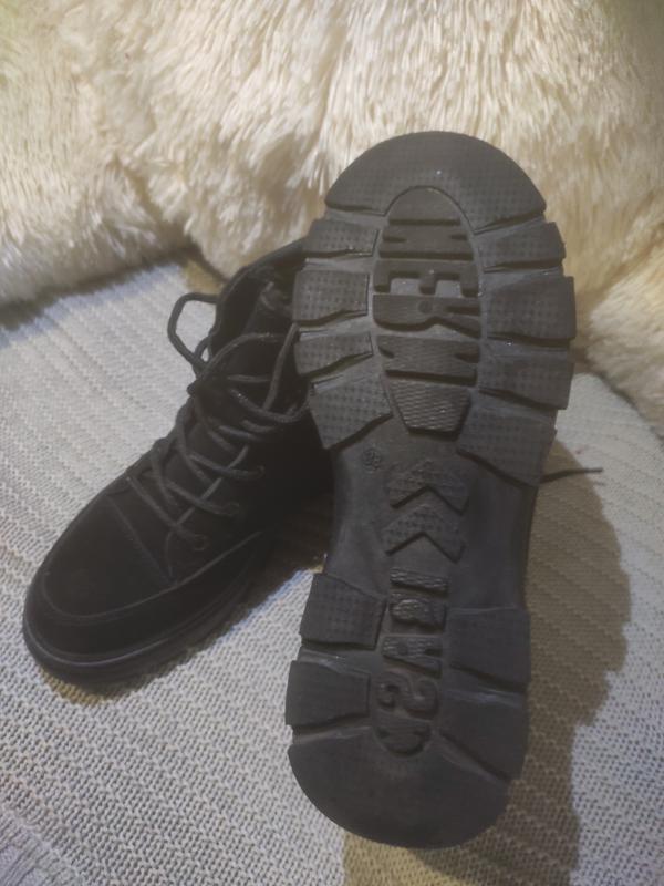 Ботинки замшевые - Фото 2
