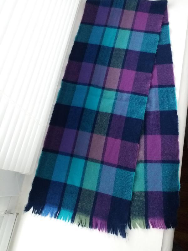 Красивый разноцветный шарф, тёплый шарф - Фото 2