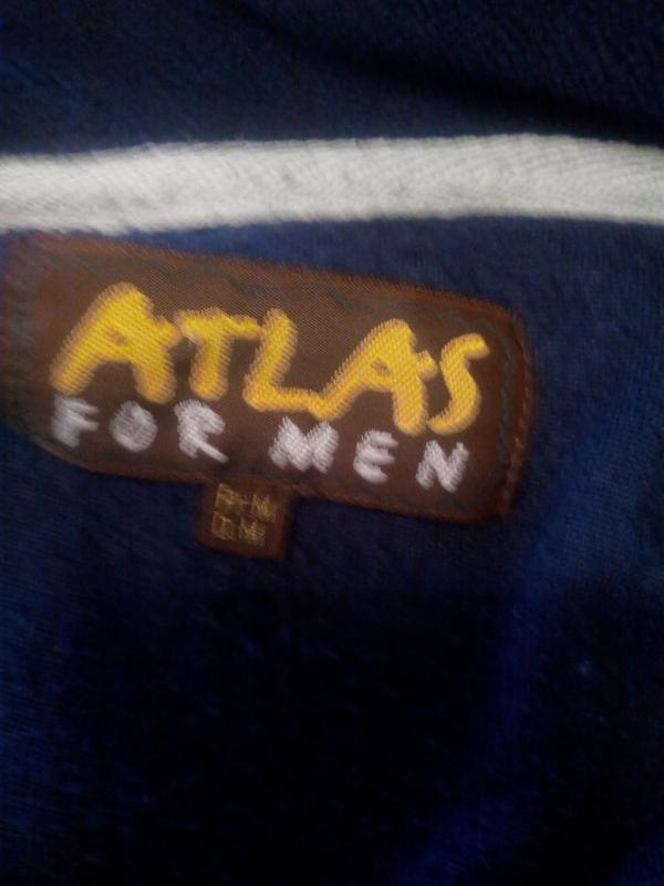 Мягусенькая флисовая кофта на молнии. atlas for men. - Фото 3