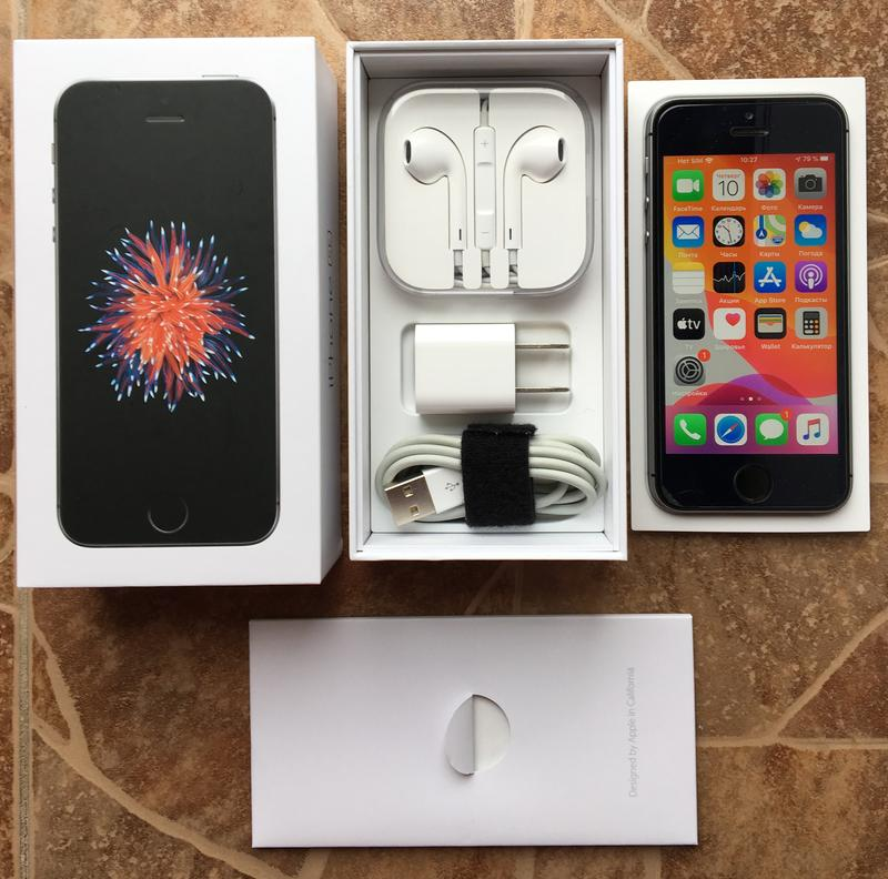 IPhone SE 32GB Space Gray Neverlock