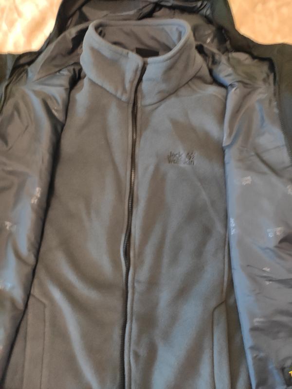 Куртка 3 в 1 west harbour jacket jack wolfskin - Фото 6