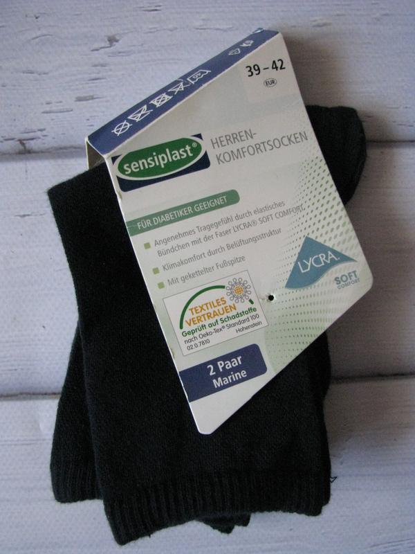 Носки для диабетиков sensiplast германия lidl размер 43-46