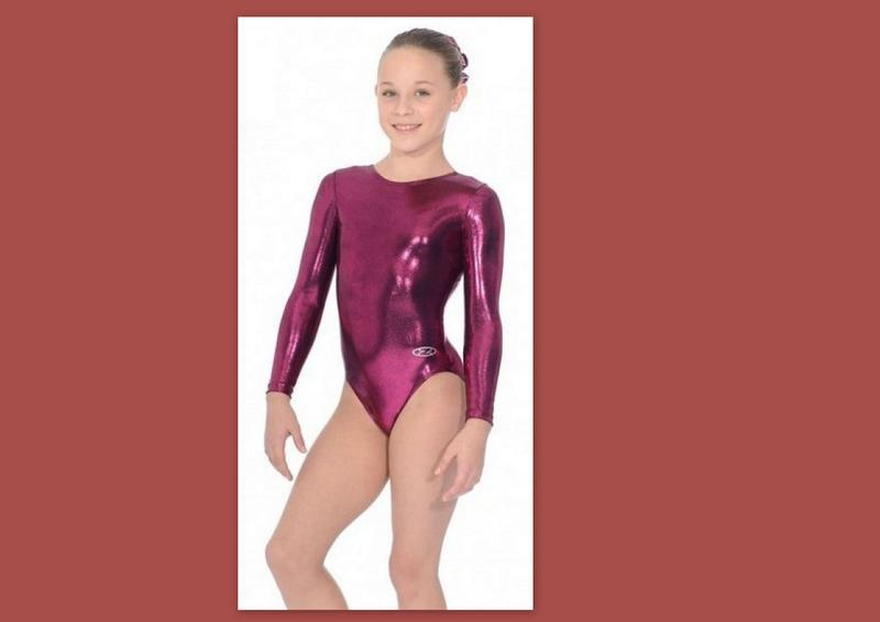 Яркий гимнастический купальник р.140-152 the zone глиттер, спо...