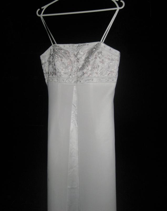 Платье yve london usa fassion белое длинное макси свадебное вы... - Фото 2