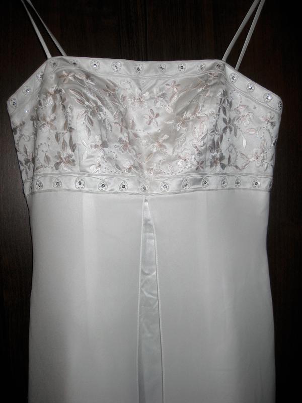 Платье yve london usa fassion белое длинное макси свадебное вы... - Фото 3