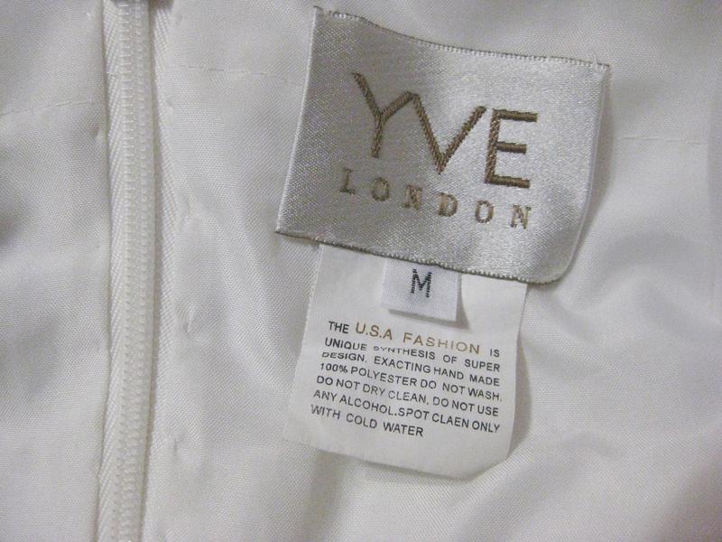 Платье yve london usa fassion белое длинное макси свадебное вы... - Фото 7